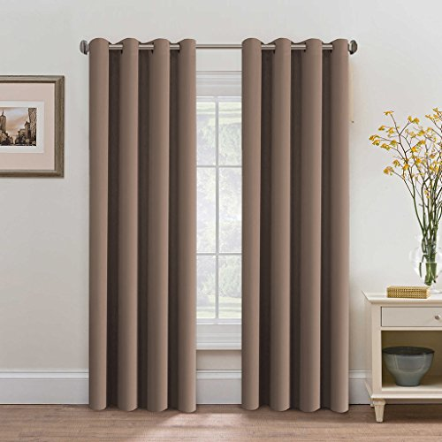 door panel curtains double rod - 6