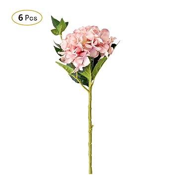 Jia Hu 6 Unidades Grandes Arreglos De Flores Artificiales