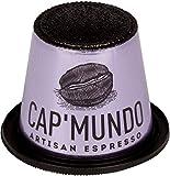 Cap'Mundo Paris Nespresso Compatible – Lungo, 100% Arabica Coffee Capsules – French Artisanal Espresso (Lungo Umbila, 50 Pods for OriginalLine Machines) Review