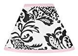 Sweet Jojo Designs Pink and Black Sophia Lamp Shade