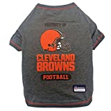 PET SHIRT for Dogs & Cats - NFL CLEVELAND BROWNS