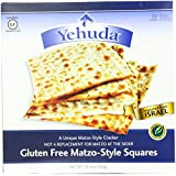 Yehuda Matzo Matzo Squares Gluten-Free 10.5 oz. (Pack of 3)