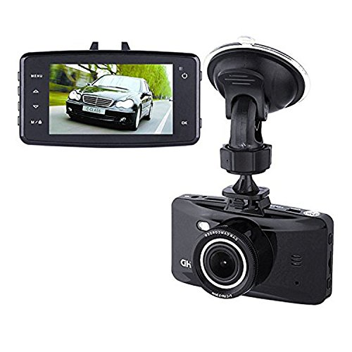 2.7 H.264 FHD 1080P Car Dash Camera 170° Wide Angle Car Driving Recorders with G-Sensor WDR Loop Recording Parking Mode and Motion Detection