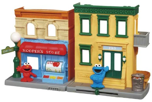 Sesame Street Neighborhood Playset (Sesame Street Clubhouse)