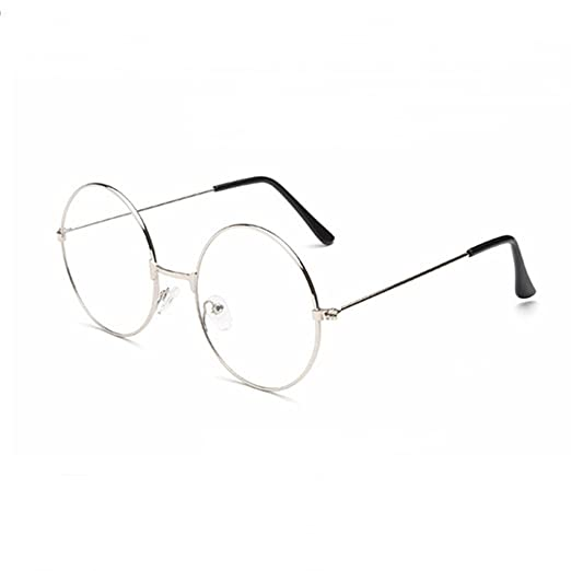 610306642f Image Unavailable. Image not available for. Color  Tinksky Round Eyeglasses  Clear Lens Glasses Ultra Light for Santa Claus and Harry potter Cosplay