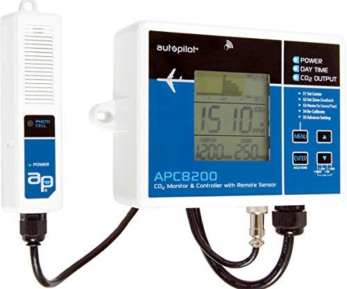 Controller Co2 Ppm (Autopilot APC8200 Monitor and Controller, 9.7L x 7.5W x 3.9H)