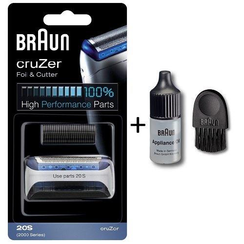Braun Replacement Cassette silver cruZer