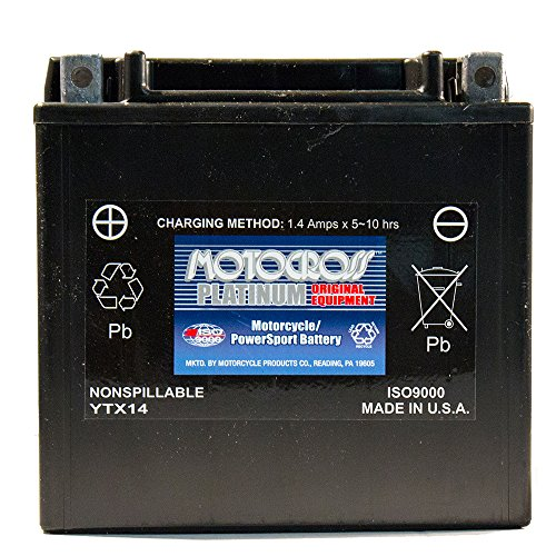 12V 12Ah Battery for Honda 1100c VT1100C2 Shadow Sabre (Vt1100c2 Shadow)