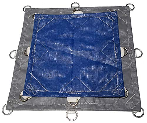 8x10 16.5mil Super-Strong Poly Tarp Cover - UV Resistant - 5X Stronger