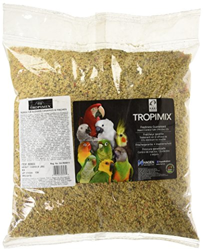 Tropimix Budgies, Canaries And Finches Egg Food Mix, 8-Pound ()