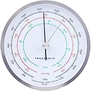 control Company 4199Traceable barometro di precisione, nickel-chrome