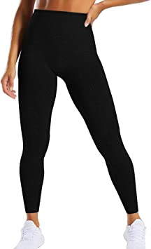 GILLYA Seamless Gym Workout Leggings Women High Waisted Vital Yoga Pants Tummy Control Butt Lift Sport Tights