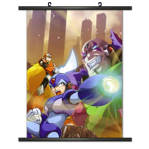 CWS Media Group Officially Licensed Mega Man X Wall Scroll P