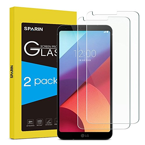LG G6 Plus / LG G6 Screen Protector, 2 PACK SPARIN...