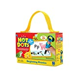 EDUCATIONAL INSIGHTS HOT DOTS JR CARDS BEGINNING PHONICS (Set of 6)