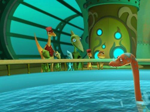 Dinosaur Train Submarine: Otto Opthalmosaurus/King Meets - Train That Hear