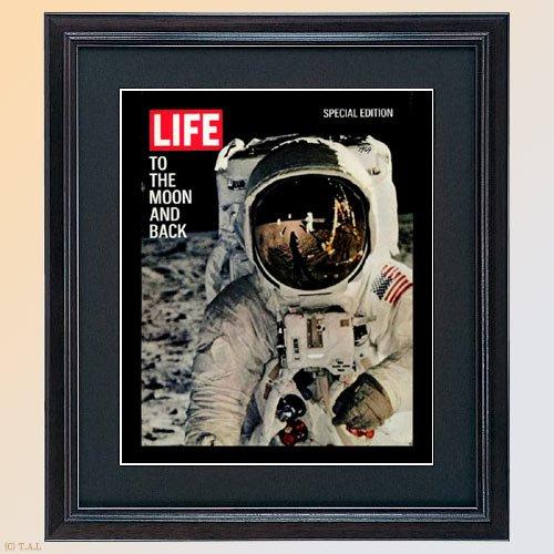 LIFE誌●ビンテージフォト●復刻表紙柄【MOON BACK】ライフ アメリカ雑誌 1950年代 1960年代表紙柄 life ポスター B00HGA315S