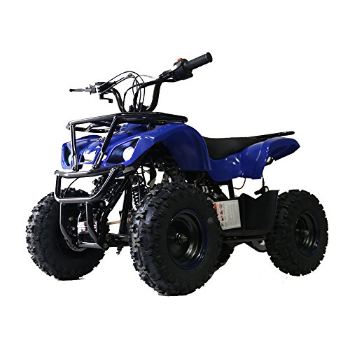 85% assembled Auto Kids Kandi ATV 50cc Apache Four Wheelers Gas Powered ATV Quad Children Boy Girl