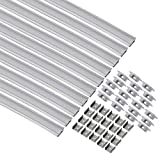 uxcell LED Aluminum Channel System - 1M/3.28 FT