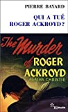 """Afficher """"Qui a tué Roger Ackroyd ?"""""""