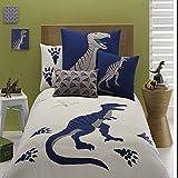 FADFAY Home Textile,Fashion Dinosaurs Duvet Cover,Brand Embroidery Cartoon Children Boys Bedding Set,Modern One Piece Anime Bedding