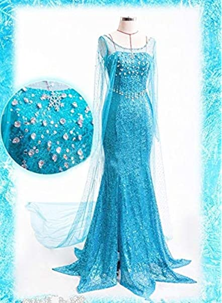 Rubies s – Disfraz de Elsa de Frozen, Adultos Oficial – Grande ...