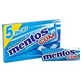 Mentos Gum Peppermint 5 x 13g (PACK OF 4)