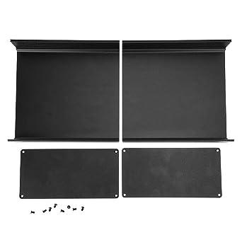Caja de proyecto de aluminio, caja de aluminio de 80x160x170 mm ...
