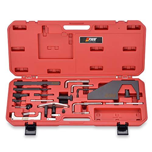 EWK Engine Camshaft Crankshaft Timing Belt Chain Service Tool Kit for Ford Mazda 2.0 2.3 CX7 (Cam Service Kit)