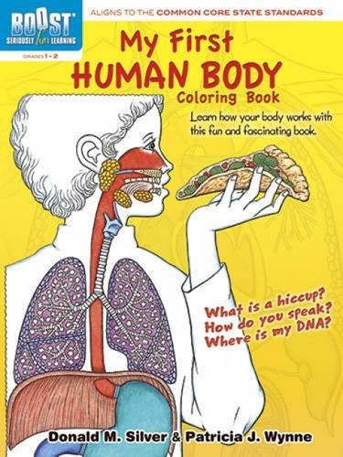 Muscles Skeleton Human (BOOST My First Human Body Coloring Book (BOOST Educational Series))