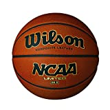 Wilson NCAA Limited Compsite 28.5 Inch Leather basketball, Intermediate Size