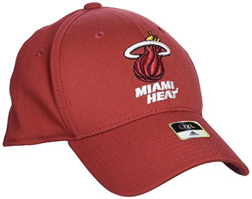 NBA Miami Heat Men's Structured Flex Cap, Large/X-Large, - Cap Flex Structured