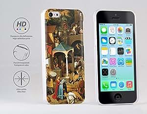 Funda Carcasa dura para Apple iPhone 5c - Bruegel - La proverbios holandeses