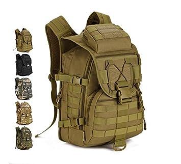 Al Militar Caza Acampar Para Y Hombro40lTácticoAsaltoImpermeableBolsa Mochila q3LR54jA