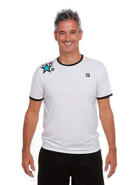 a40grados Sport & Style Cass Star Camiseta de Tenis, Hombre, Blanco, ...