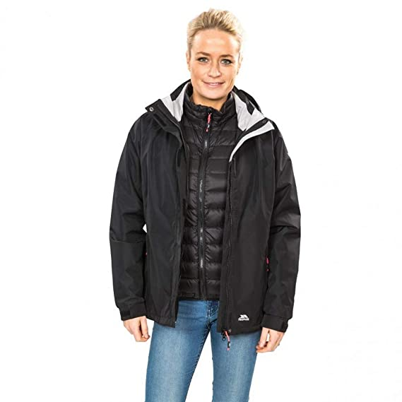 Trespass Trailwind Giacca Impermeabile 3 in 1 Donna