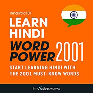 Learn Hindi - Word Power 2001 Audiobook