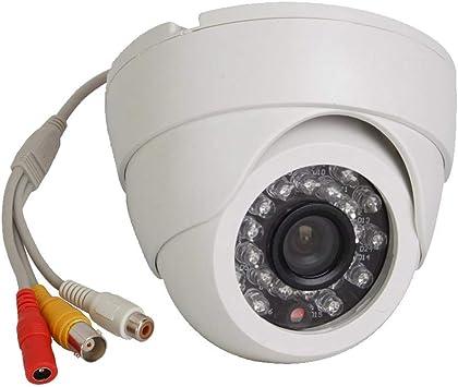 Analog CMOS Dome 800TVL 3.6MM CCTV Security Camera NTSC PAL Indoor BNC Color CAM
