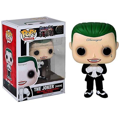 Funko Pop! Suicide Squad #109 The Joker (tuxedo) Exclusive by FunKo