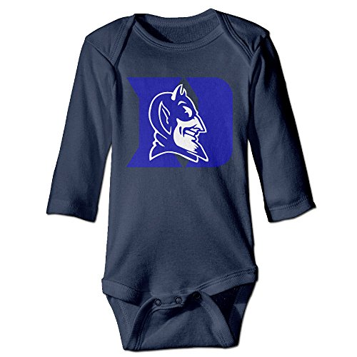 Price comparison product image OOKOO Baby's Duke University Blue Devils Logo Bodysuits Navy 24 Months