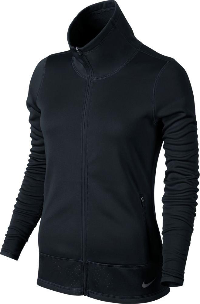 Nike Golf Women's Thermal Full Zip Jacket Black/Black/Dark Grey XS
