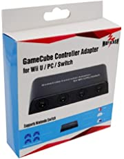 Mayflash GameCube - Adaptador de driver para Wii U, PC USB e interruptor, 4 puertos