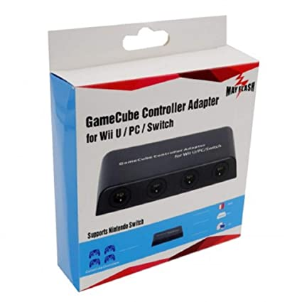 Amazon com: Mayflash GameCube Controller Adapter for Wii U