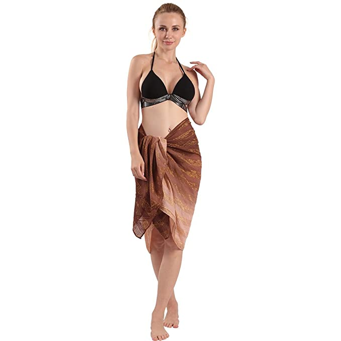 715ec6284f885 Amazon.com  Color Inchoice Womens Bathing Suits Sarong