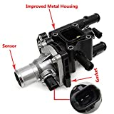 #7: 1.8L Engine Coolant Thermostat Housing for 2012-2015 Chevrolet Sonic 2013-2015 Chevrolet Trax 2013-2015 Chevrolet Tracker 2011-2015 Chevrolet Cruze Re