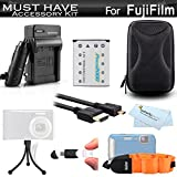 Must Have Accessory Kit For Fuji Fujifilm FinePix XP80, XP90, XP120, XP130...