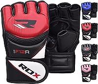 RDX MMA Kunstleder UFC Handschuhe Kamfsport sandsackhandschuhe Sparring...