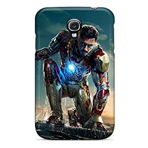 Excellent Hard Phone Cases For Samsung Galaxy S4 (RIW8624zJZa) Allow Personal Design High Resolution Iron Man 3 New Pictures