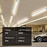 Lightdot 4 FT LED Shop Light Fixture with Plug, 50W