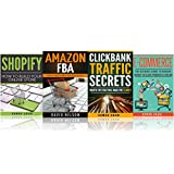 Business Startup: 4 manuscripts: Ecommerce, Amazon Fba, Shopify, Clickbank (how to make money online)
